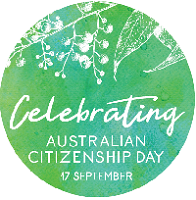 View sample of Celebrating Australian Citizenship Day stickers New Version (12 stickers per sheet)