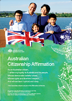 View sample of Affirmation Citizenship Poster