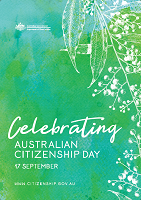 View sample of Australian Citizenship Day Poster